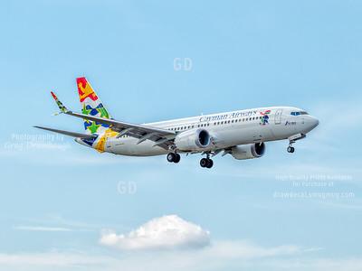 Cayman Airways 737 Max8