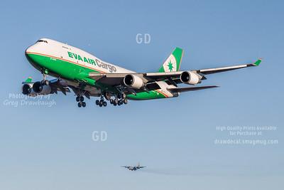 Eva Air Cargo 747-400F