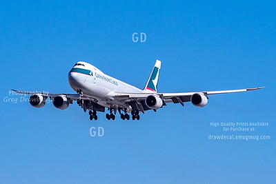 Cathay Pacific Cargo 747-8F