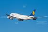 Lufthansa 747-8i at MSP
