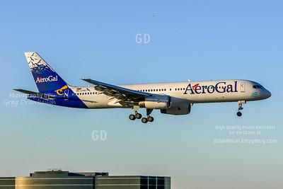 AeroGal Arriving from Ecuador