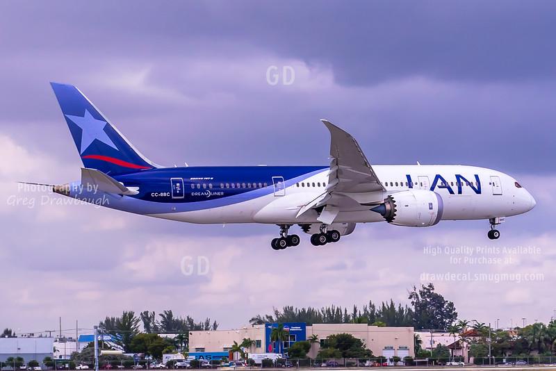 LAN 787-8 Dreamliner
