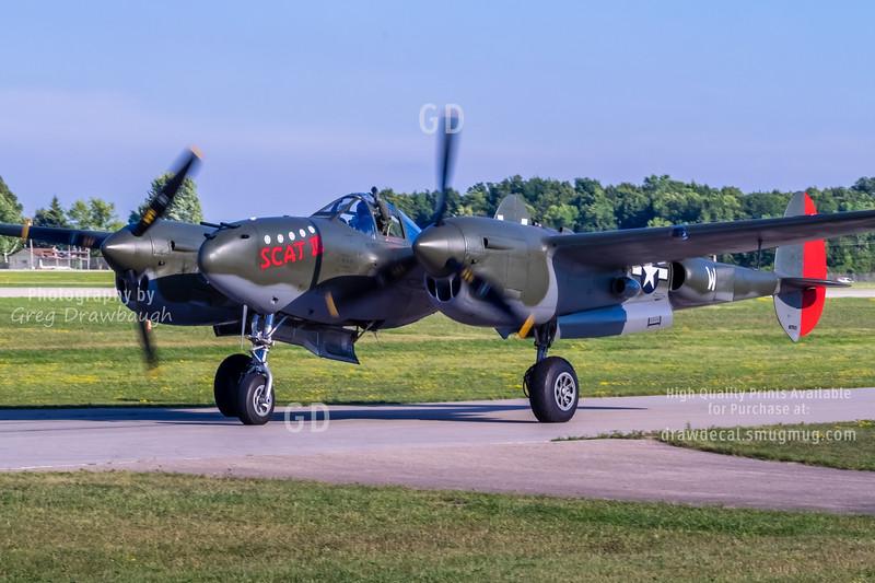 """P-38J """"SCAT III"""""""