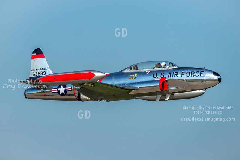 Chrome-plated T-33