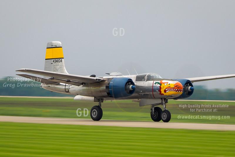 """A-26B """"Silver Dragon"""""""
