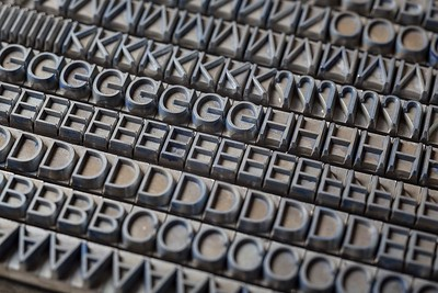 Helvetica, Max Miedinger and Edward Hoffman, Haas Foundry, 1957.