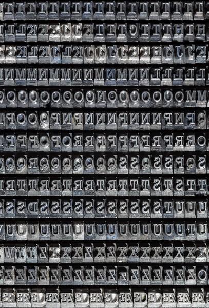Typewriter type by Augusta-Nebiolo, Turin