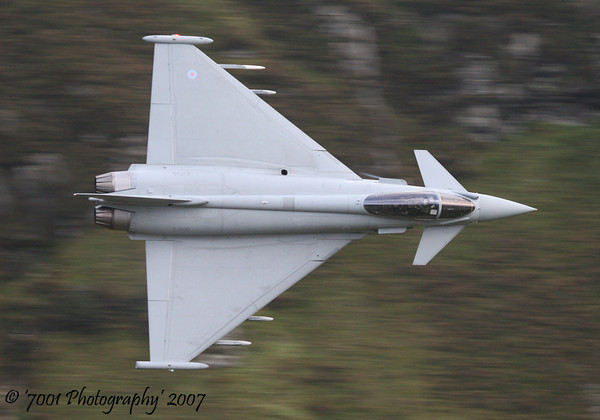 ZJ700 (Unmarked) Typhoon FGR.4 - 1st November 2007.