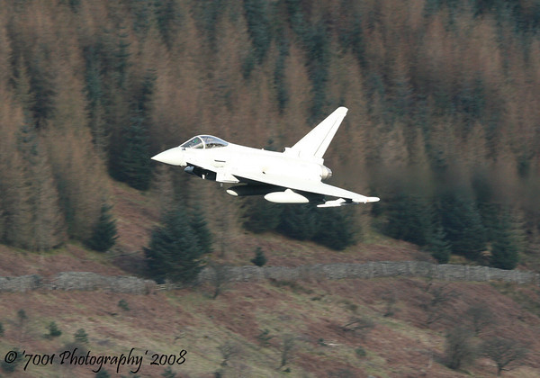 ZJ700 (Unmarked) Typhoon FGR.4 - 27th March 2008.