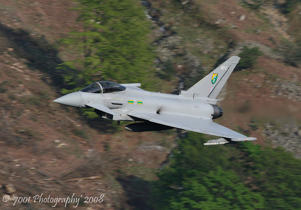 ZJ923/'QO-E' (3 SQN marks) Typhoon F.2 - 8th May 2008.