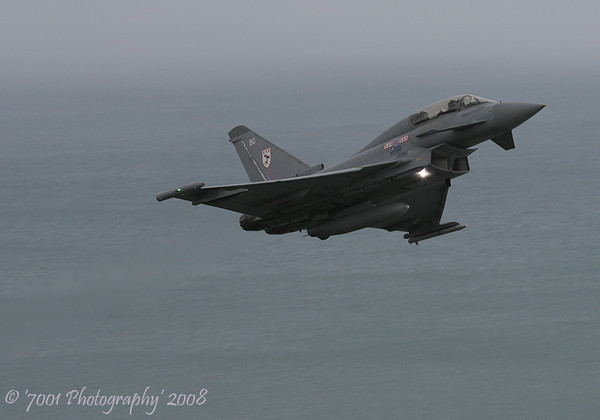 ZJ808/'BG' (29(R) SQN marks) Typhoon T.1 - 13th August 2008.