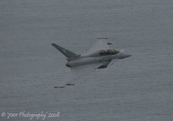 ZJ808/'BG' (29(R) SQN marks) Typhoon T.1 - 13th August 2008.