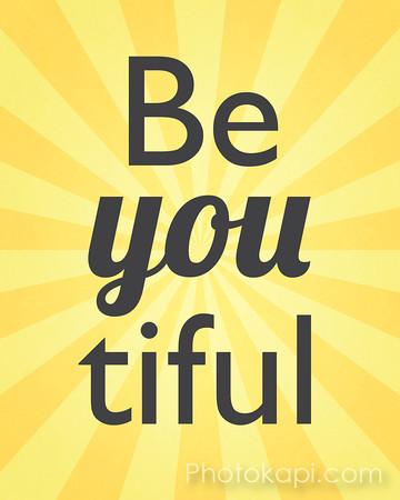 Be You tiful - Yellow
