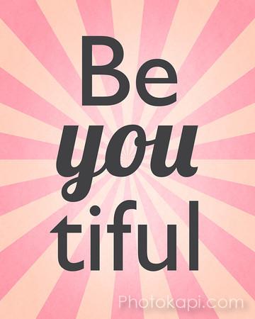 Be You tiful - Pink