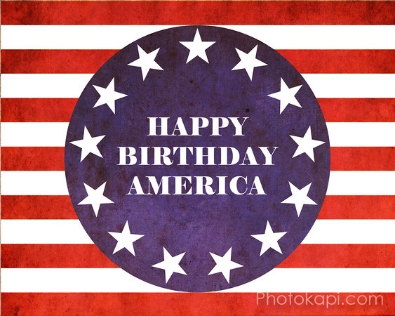 Happy Birthday America!