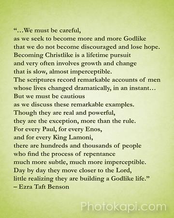 Becoming Godlike