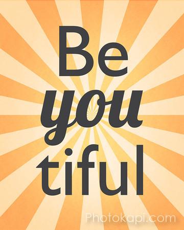 Be You tiful - Orange