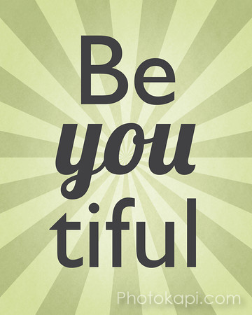 Be You tiful - Green