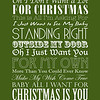 All I Want For Christmas Is You | Mariah Carey | Green and White