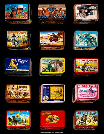 Cowboy Lunch Boxes - 2014