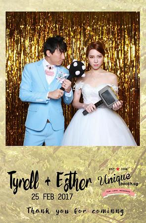 Tyrell + Esther Photobooth Album