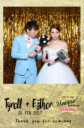 Tyrell + Esther Photobooth Album