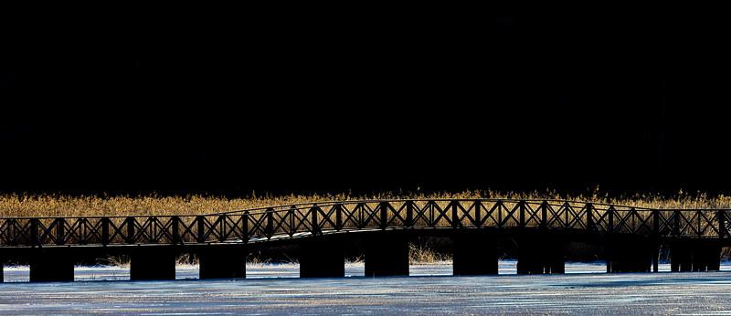 The bridge to Notholmen, Tyresö Stockholm