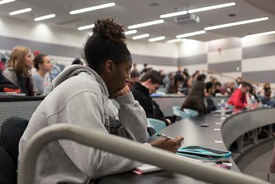 Undergraduates in Class