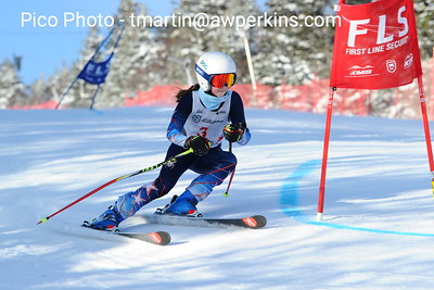 Killington GS Girls Run 1