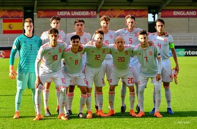 Spain Initial Team vs Holland