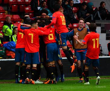 Spain vs Germany, U17 Euro Final Tournament