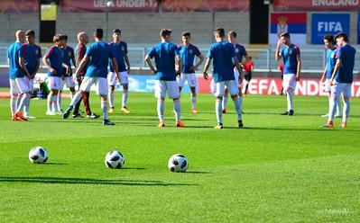 U17 Serbia vs Spain, Final Tournament