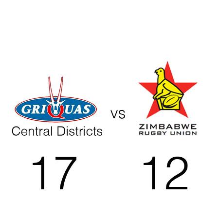 Griquas CD vs Zimbabwe