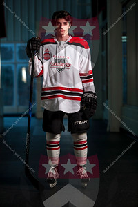 South Kent School  U18 Selects Academy Hockey Portraits