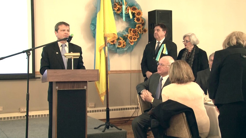 VIDEO Congressman Mike Quigley addresses participants at the Ukrainian Congress Committee Illinois Division's 40th anniversary banquet January 26, 2014 at the Ukrainain Cultural Center, Chicago, IL.