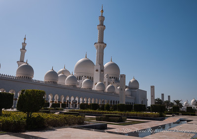 Sheikh Zayed Grand Mosque- Abu Dhabi