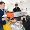 final-preparations-are-made-before-the-latest-test-flight-of-the-universitys-unmanned-aircraft_13267790823_o
