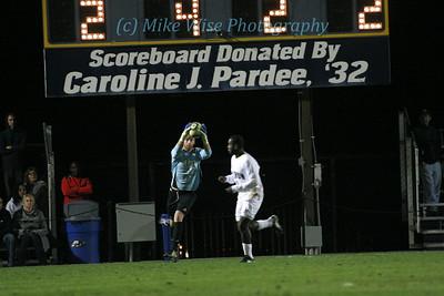 #1 University of Akron Men's Soccer (1) v Creighton University (0)