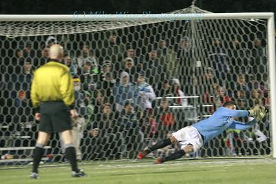 #3 University of Akron Men's Soccer (3) v. #6 California (3) Akron advances in PK's 3-2
