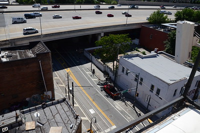 Rooftop views of 250 Auburn Ave, ATL