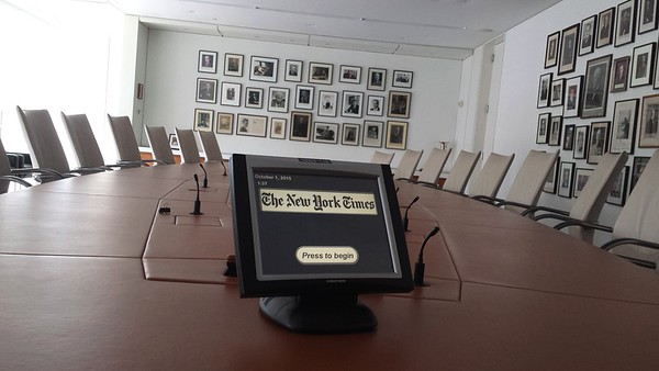 Actual NY Times Board Room