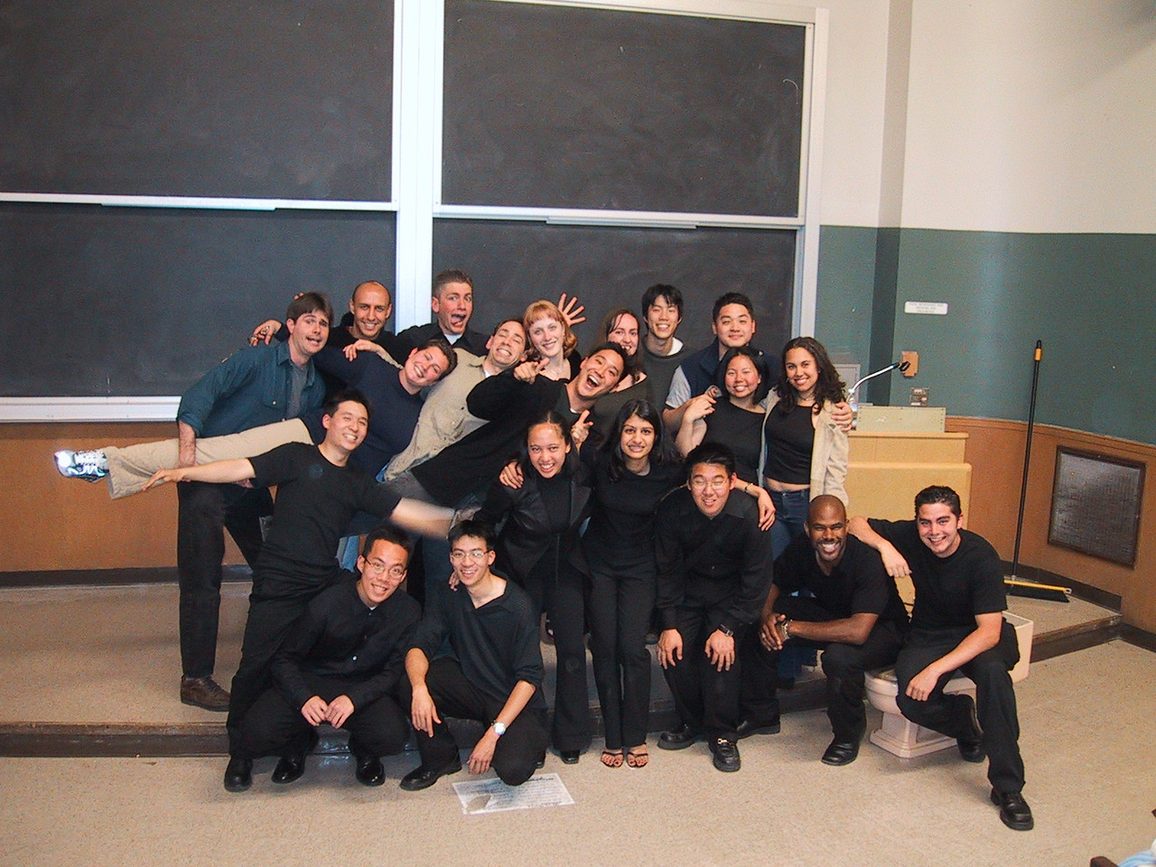 AiR Spring 2002 Concert pic with Alumni