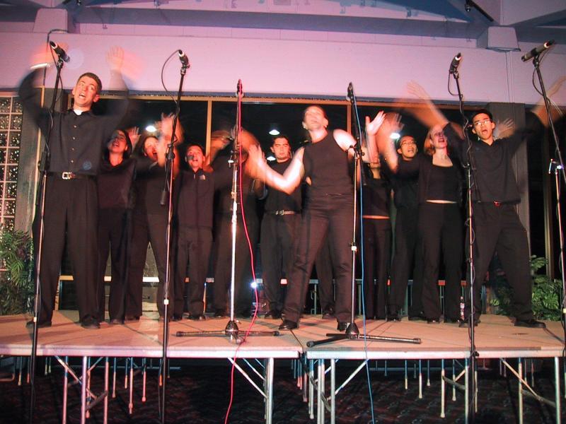 AiR Spring 2002 Sonoma St gig - Raining Men