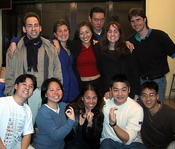 AiR Spring 2001 Rehearsal group pic