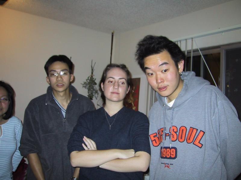 Xiao-Wei, Ben, Sara, & Robin