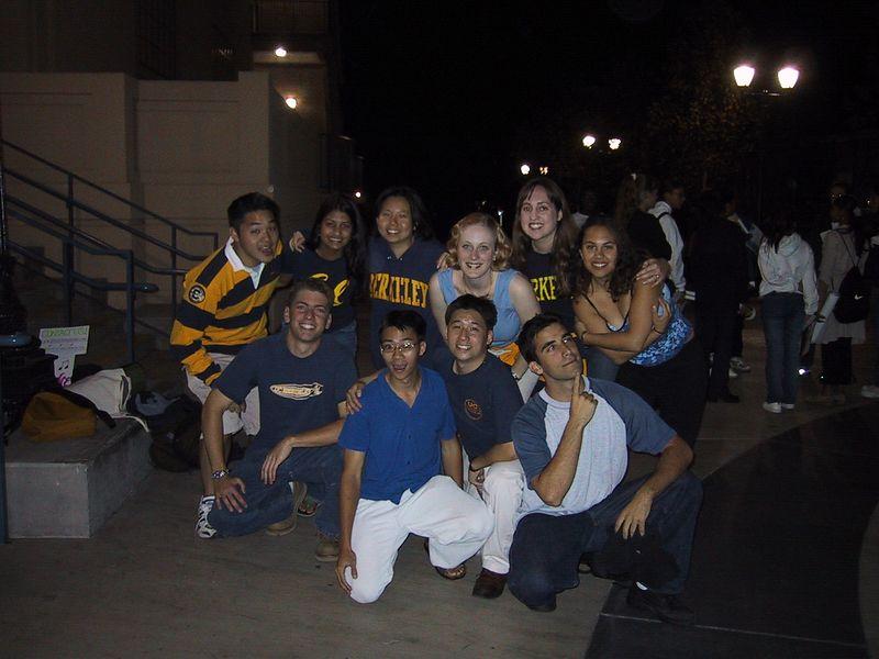 AiR Fall 2001 Rally Gig Group Pic