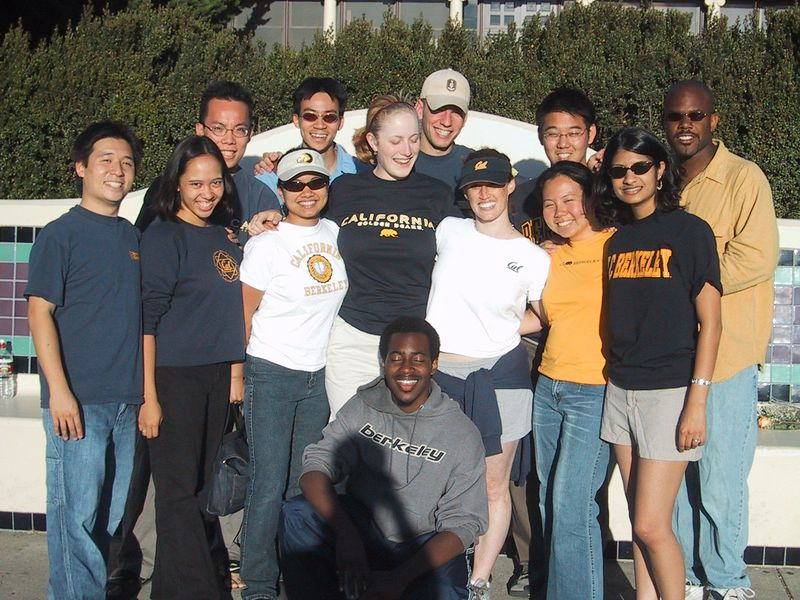 AiR Fall 2002 Group Pic before Clark Kerr - Can't Keep Eyes Open