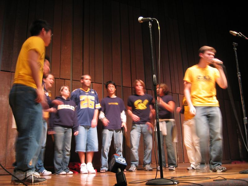 2004 11 16 Tuesday - AiR Villain medley 1 @ The Big Sing