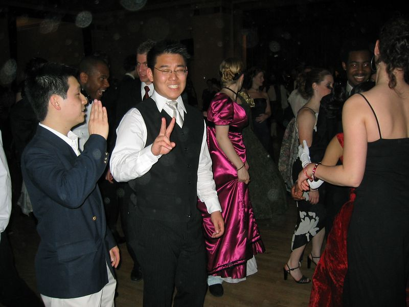 Kenji gives the Asian greeting & Lenny gives the Native American 'hello'