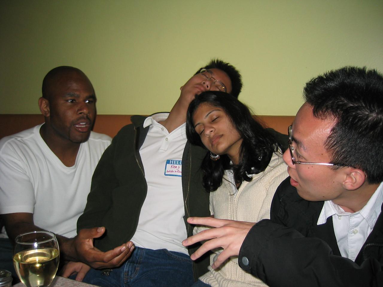 Marc & Albert parted by Kenji & Shaila
